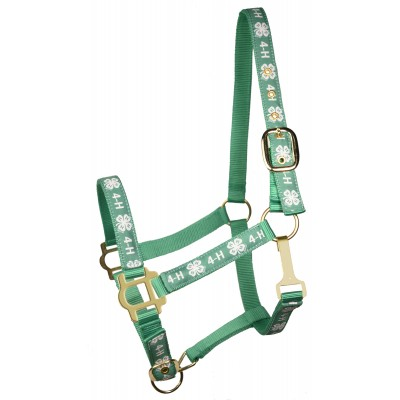 4H Classic Adjustable Nylon Halter with Snap