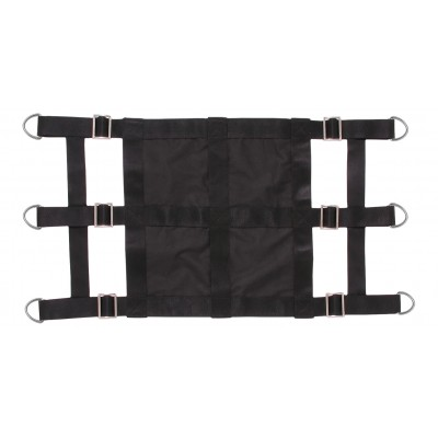 Nylon Stall Guard with Closed Center & Heavy Duty D-Rings