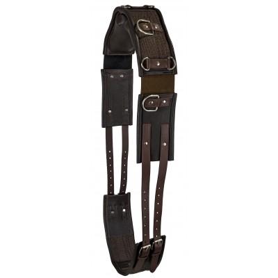 Leather Training Surcingle