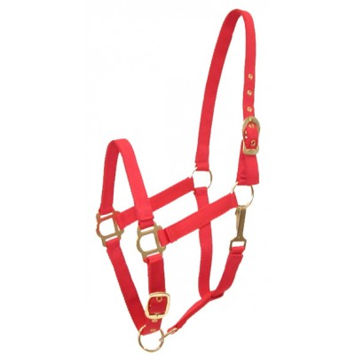 Adjustable Nylon Halter with Snap