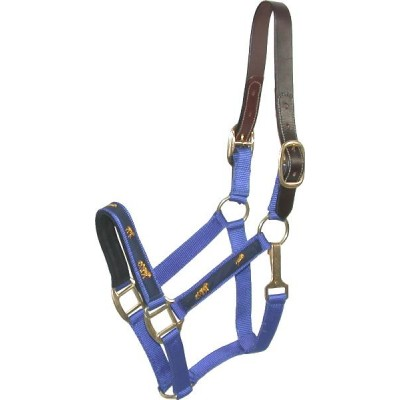 Nylon Breakaway Halter with Horse Overlay & Snap