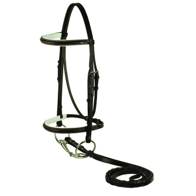 Plain Raised Padded Bridle