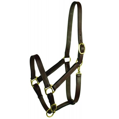 Adjustable Turnout Halter with Snap